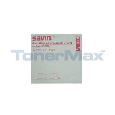 SAVIN SDC103 TONER MAGENTA